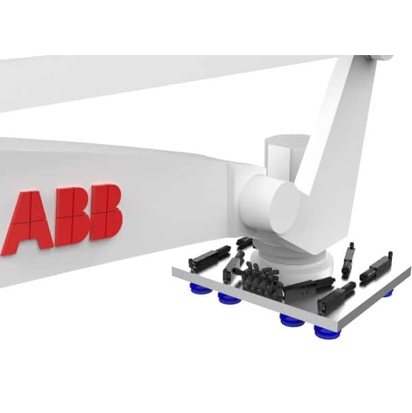 ABB robot custom eoat vacuum gripper for carton handling