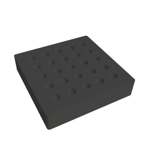replacement foam for flexigrip 100mm square foam gripper