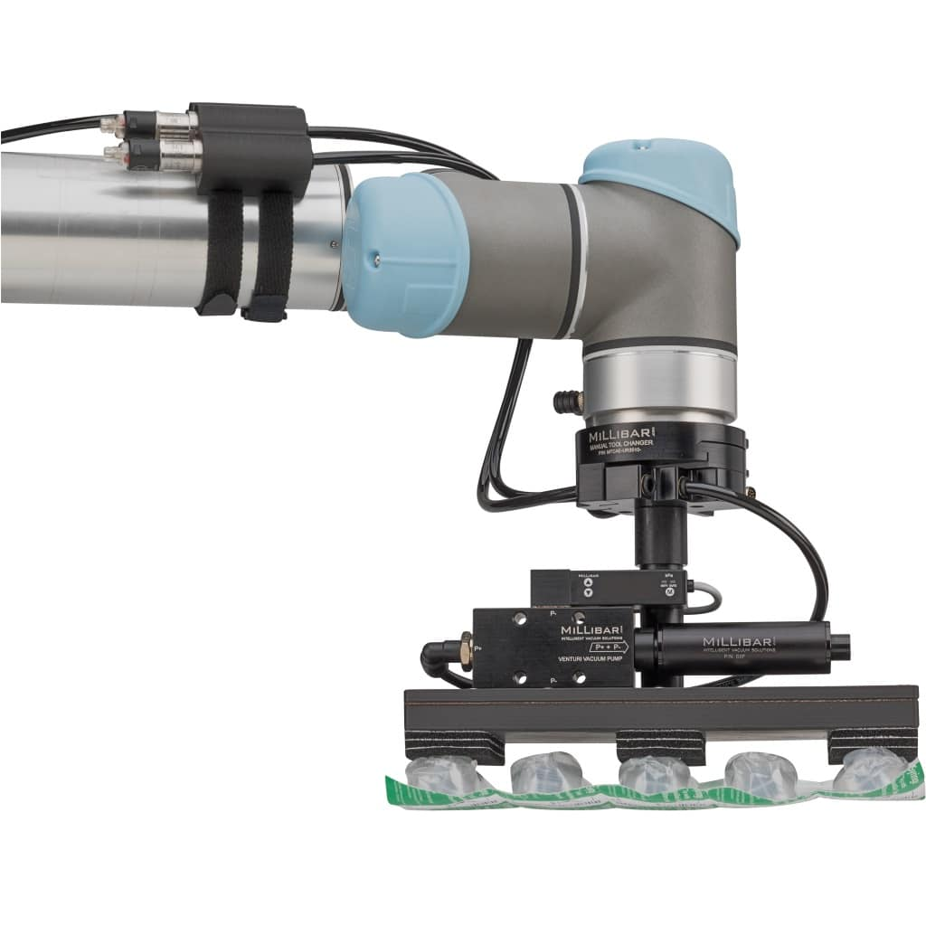 Millibar Custom End of Arm Tools for Collaborative Robots